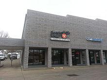 Un magasin de vape à Lincoln, Nebraska, USA.