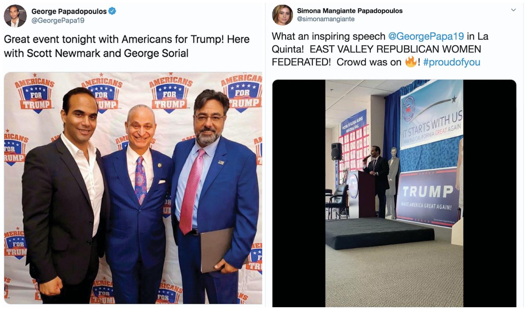 George Papadopoulos jure que sa candidature au Congrès n'est pas une blague 1