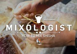 Mains tenant un bol de shisha envelopper avec de la shisha - Comment mélanger le tabac à chicha Shisha Mixologist blog post