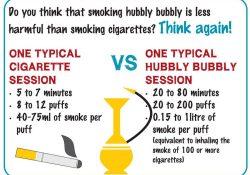 Chicha contre les cigarettes