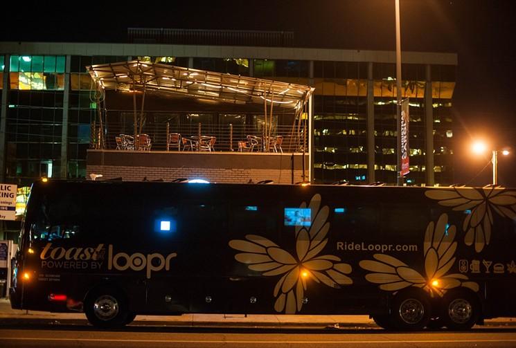 Le Loopr peut être vu régulièrement dans le centre-ville de Denver.